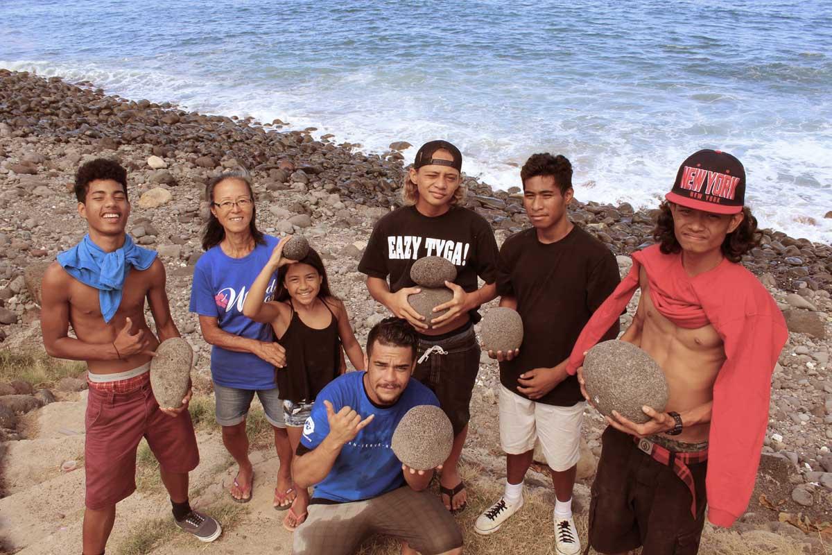 HYCC Community Team Members in Waiʻanae