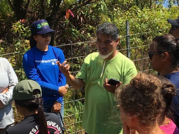 Sam Gon (The Nature Conservancy) shares his 'ike about the Kāhuli tree snails.